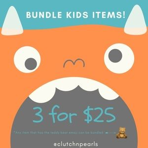 Bundle Kids Items & Save! Look for the 🧸!
